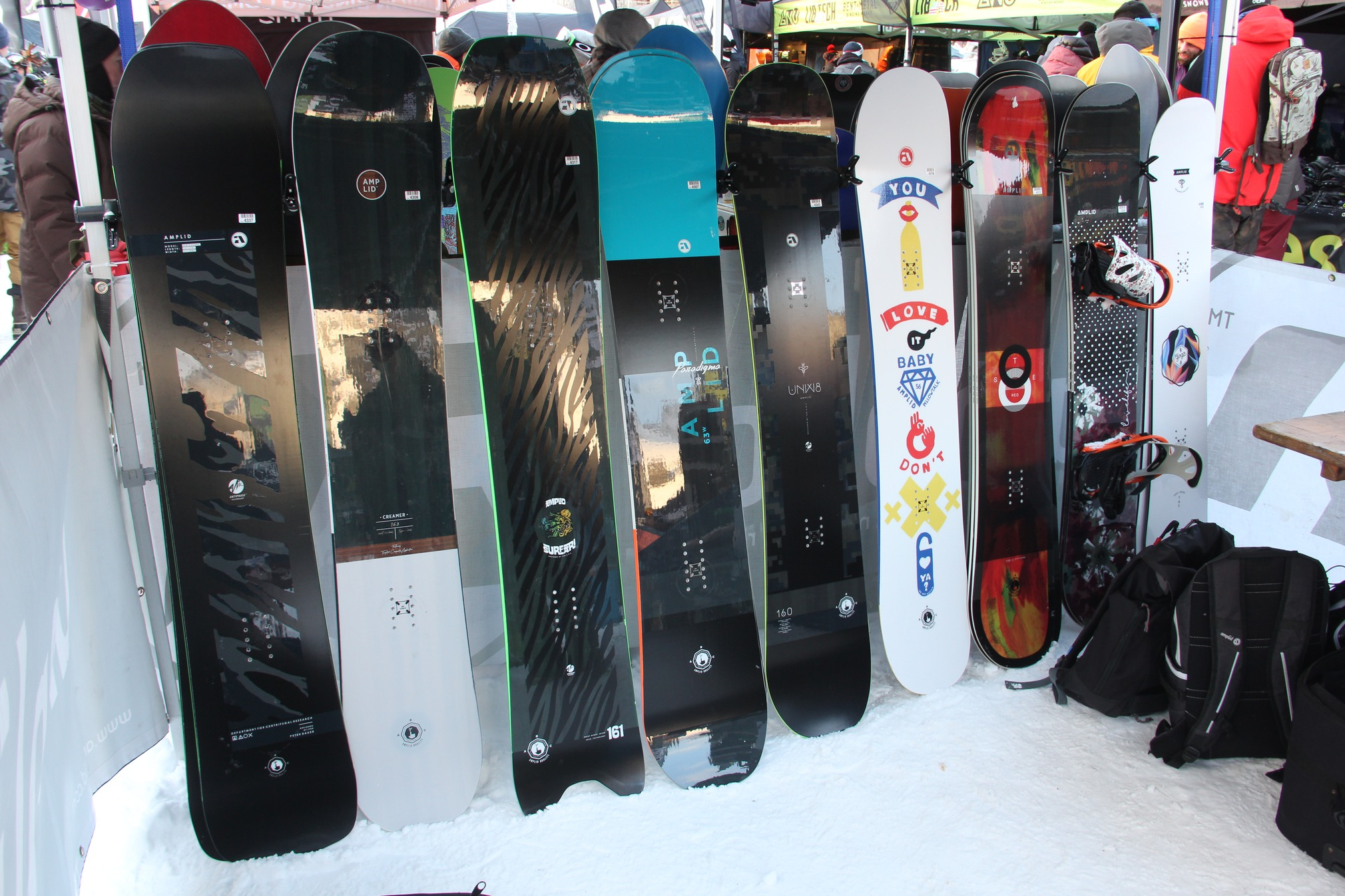 snowboard amplid